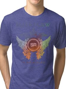 SUSHIRAW IS THE FUTURE (color) Tri-blend T-Shirt