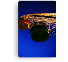 Ferris Wheel - Luna Park. Canvas Print