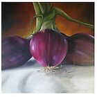 Red Onions by Belinda Lindhardt