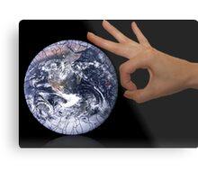 Earth care Metal Print