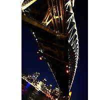 Under Sydney Harbour Bridge. Photographic Print
