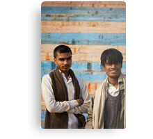 Fragments of Richness: An Indian Expose - curious eyes Metal Print