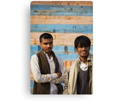 Fragments of Richness: An Indian Expose - curious eyes Canvas Print