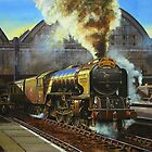 """A1 """"Balmoral"""" leaves Kings Cross by Tom  Holland"""