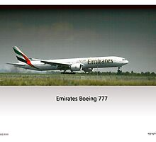 Emirates B777 - OTR Landings by Paul Lindenberg