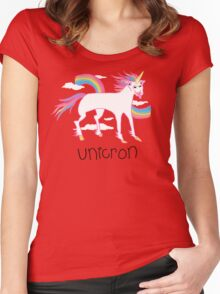 Unicron Women's Fitted Scoop T-Shirt