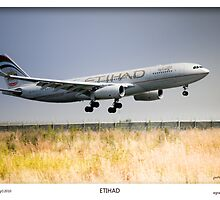 Etihad Airbus - OTR Landings by Paul Lindenberg