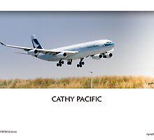 Cathy Pacific - OTR Landings by Paul Lindenberg