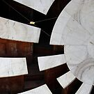 Sundial at Jaipur observatory, India by Philomena