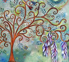 Wisteria tree by sue mochrie