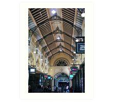 Melbourne arcade Art Print