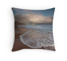 Gibson's Beach Rainbow Throw Pillow