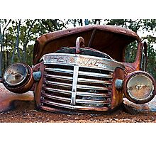 Old Chevy Photographic Print
