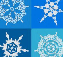 Snowflake Pattern Sticker