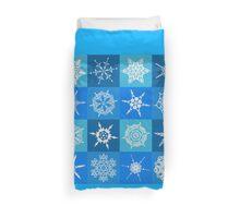 Snowflake Pattern Duvet Cover
