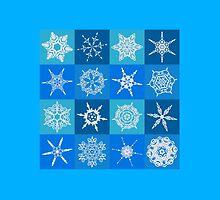 Snowflake Pattern by creepyjoe