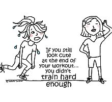 Train hard enough... / Human doodle by eyecreate