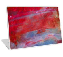Sunset,  Fire Opal, Non Objective colourful art Laptop Skin