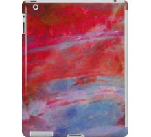 Sunset,  Fire Opal, Non Objective colourful art iPad Case/Skin