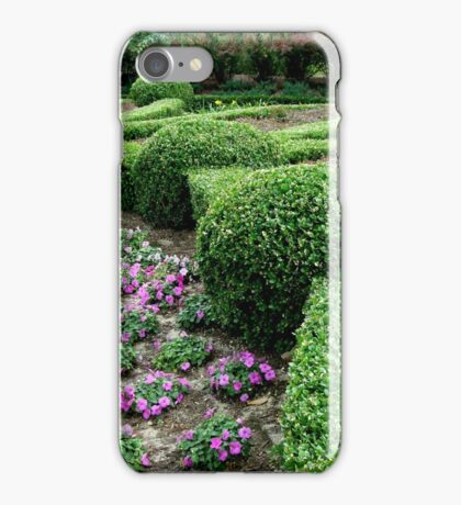 Country Garden with a Flair ^ iPhone Case/Skin