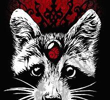 Raccoon by Tim Van Horn