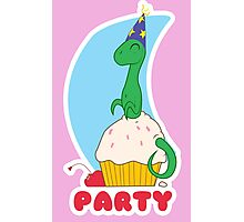 Party Cupcake Fruit Photographic Print
