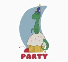 Party Cupcake Fruit Baby Tee