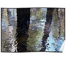 Water World - Impressions of Trees Poster