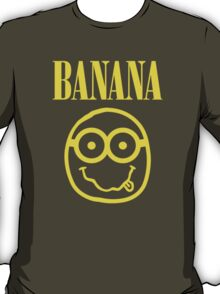 Nirvana Banana Logo T-Shirt