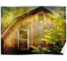 The Barn at The Herb Farm Poster