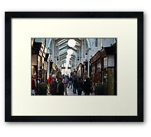 Burlington Arcade Framed Print