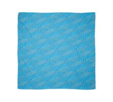 Teal Water Ripples Scarf