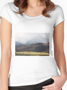 Ghost Mountains Women's Fitted Scoop T-Shirt