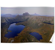 Cradle Mountain, from a Birds Eye View! Poster