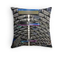 Shiny & New Throw Pillow