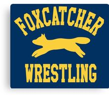 Foxcatcher Sweater Canvas Print