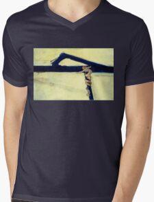 Kline, Michelangelo Mens V-Neck T-Shirt