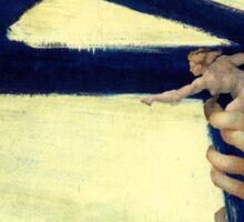 Kline, Michelangelo Sticker