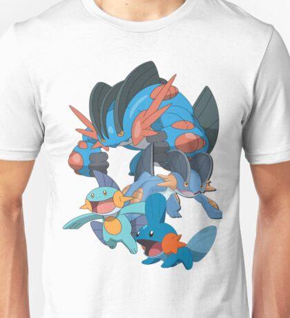 mudkip's family Unisex T-Shirt