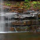 Wentworth Fall panorama - Blue Mountains National Park by Jesper Høgsdal