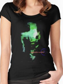 Psychedelic NeverLand: Tha Green Goop Women's Fitted Scoop T-Shirt