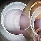 Playing with Circles, fractal abstract by walstraasart