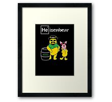 Heisenbear and Pigman Framed Print