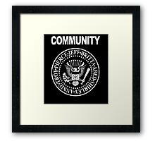 Community - Great Seal of the Study Group Framed Print