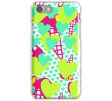 Neon Icecreams iPhone Case/Skin