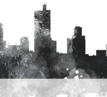 Fort Worth Texas  Skyline Sticker