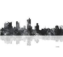 Fort Worth Texas  Skyline Photographic Print