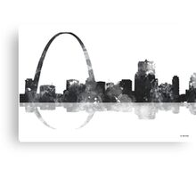 Gateway Arch St Louis Missouri Skyline Canvas Print