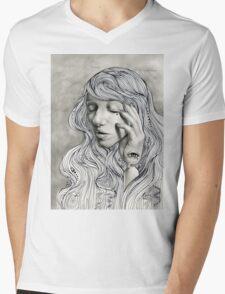 Cassandra's Sorrow  Mens V-Neck T-Shirt