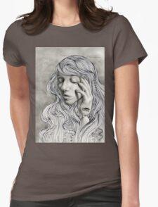 Cassandra's Sorrow  Womens Fitted T-Shirt